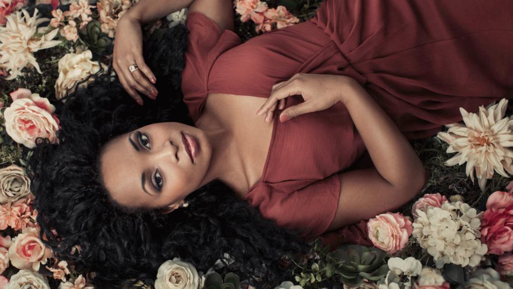 Portrait of a Beautiful Black Woman by Emily London Portraits