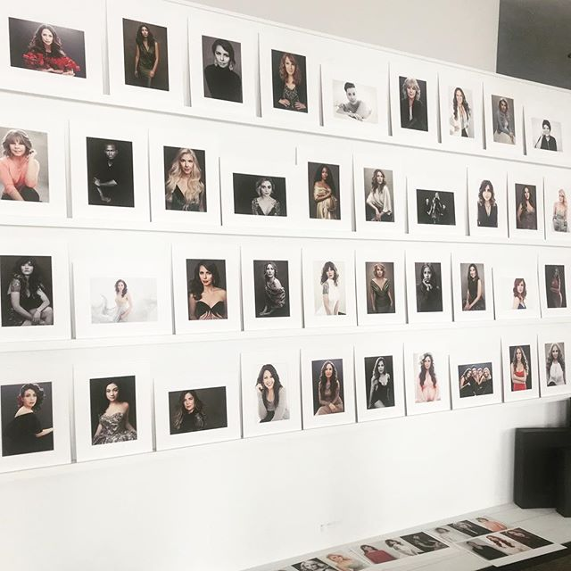 A few of my favorite images are up on the reveal wall today - and my productivity is dropping since I am now so drawn to sit in front of all these incredible women and feel the warmth of their collective light burning up the studio.