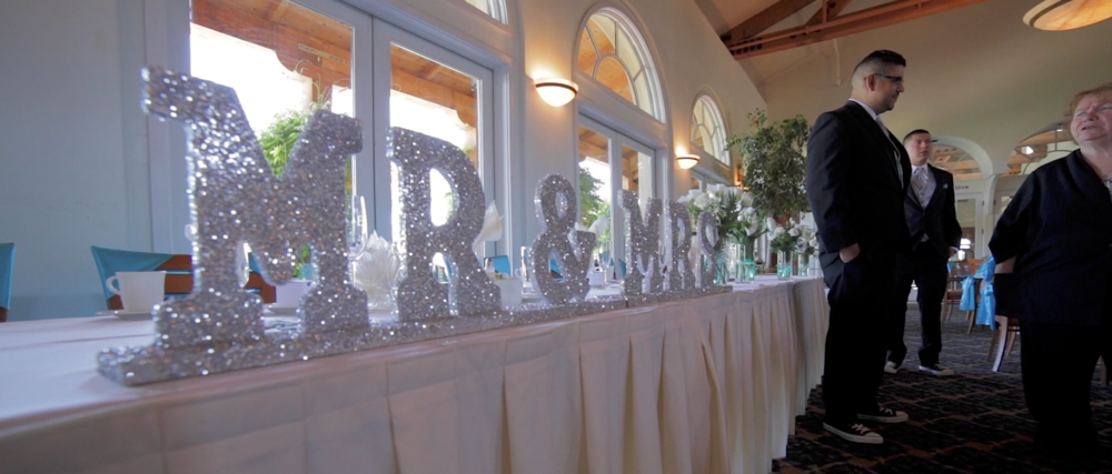 The Wedding Table for Athen & Tim was impressive. We just had to incorporate it into the film.
