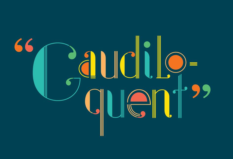 Gaudiloquent