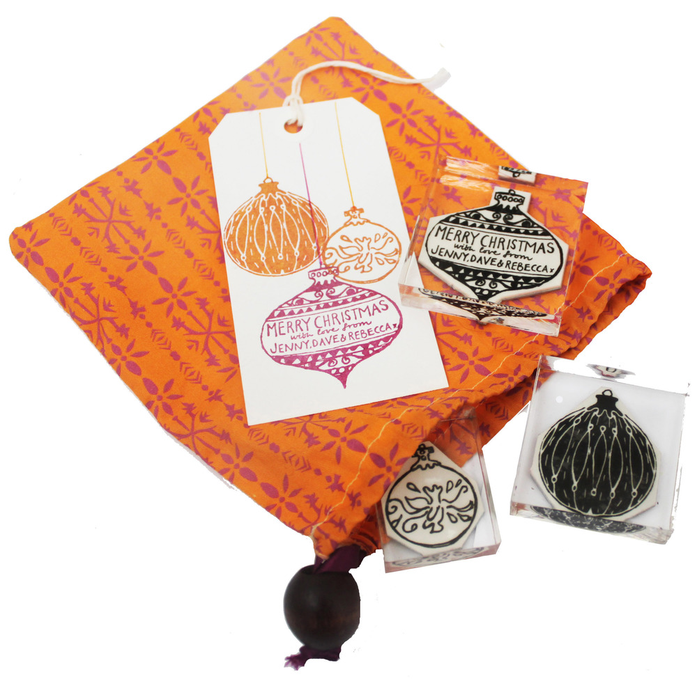 Bauble stamp set