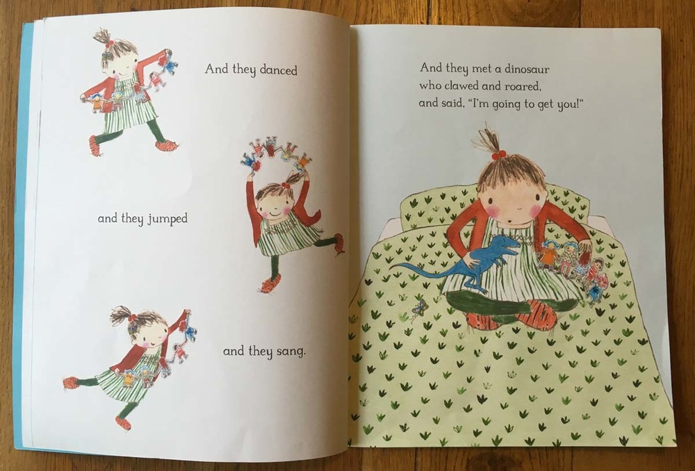 Book report paper doll