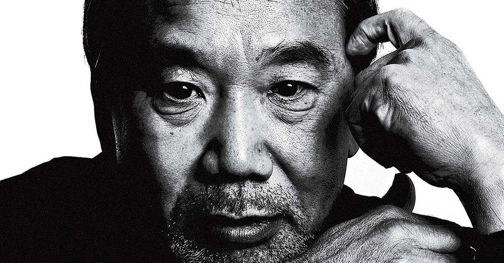 Haruki Murakami. Fotograf: M. Jans.
