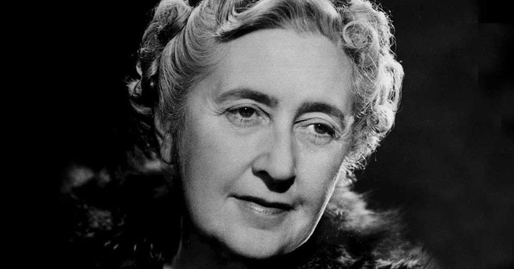 Författaren Agatha Christie - hon skapade legender också bortom litteraturens värld.