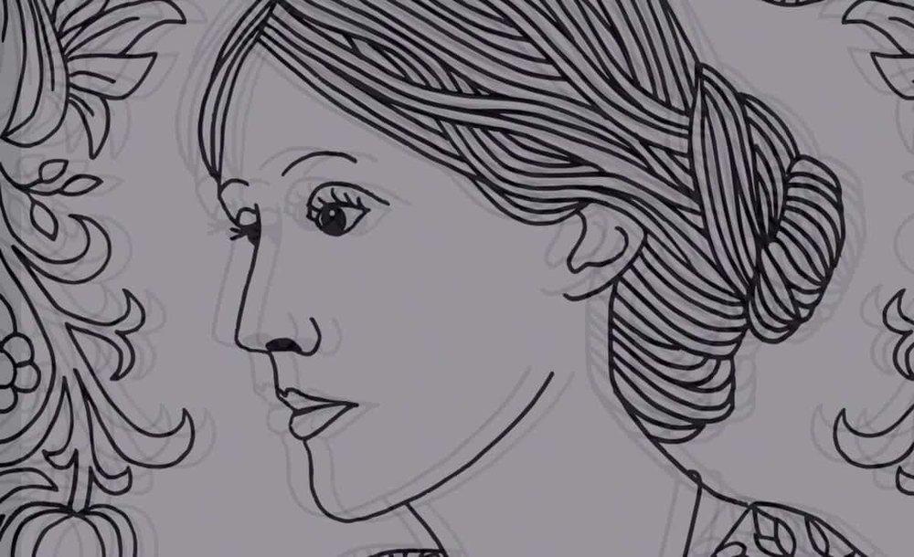 Virginia Woolf kämpade hela sitt liv på gränsen mellan kreativitet och psykos.