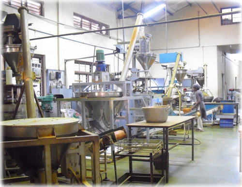 Present packaging facility.