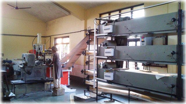 New 'Papad' production facility.