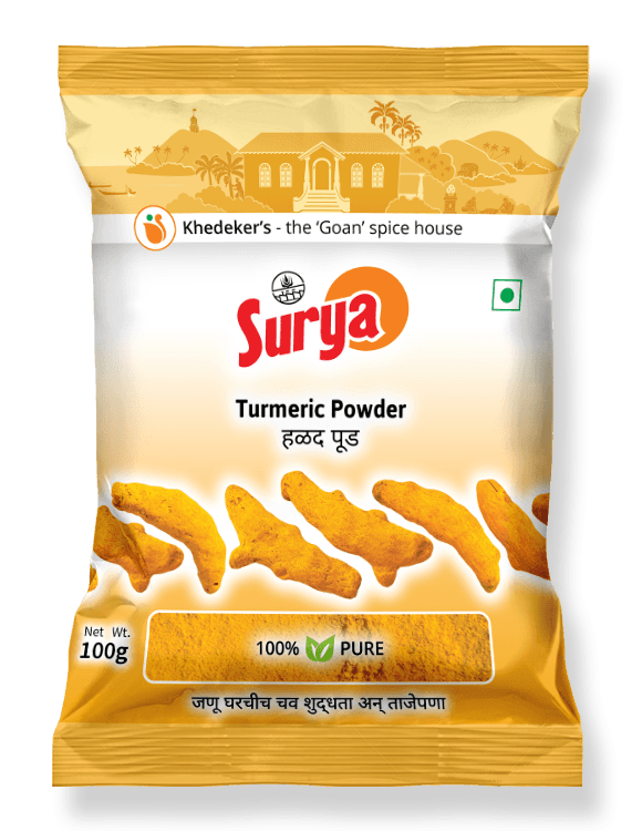 Turmeric Powder Pack  100 g