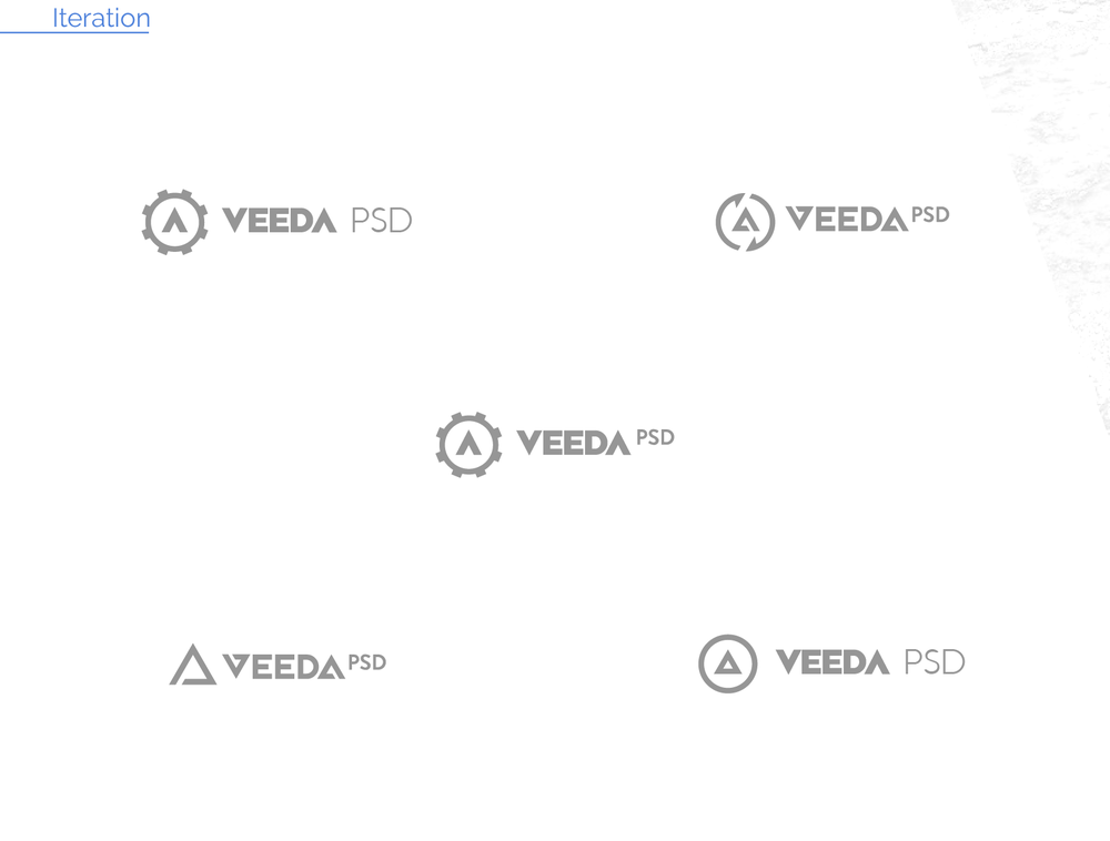 VEEDA-logo development