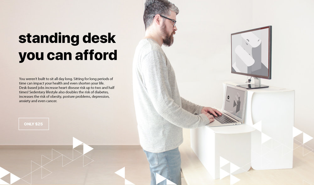 Standing desk you can afford