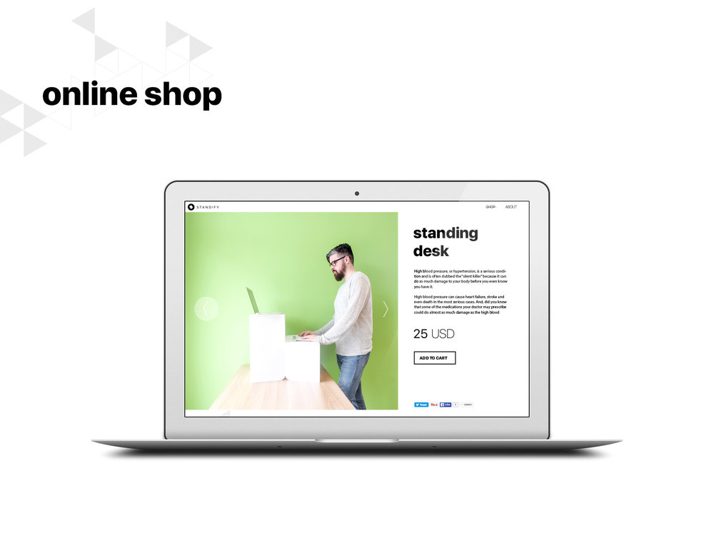 Standify online shop