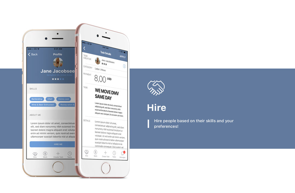 Zwork App Hire and find Work