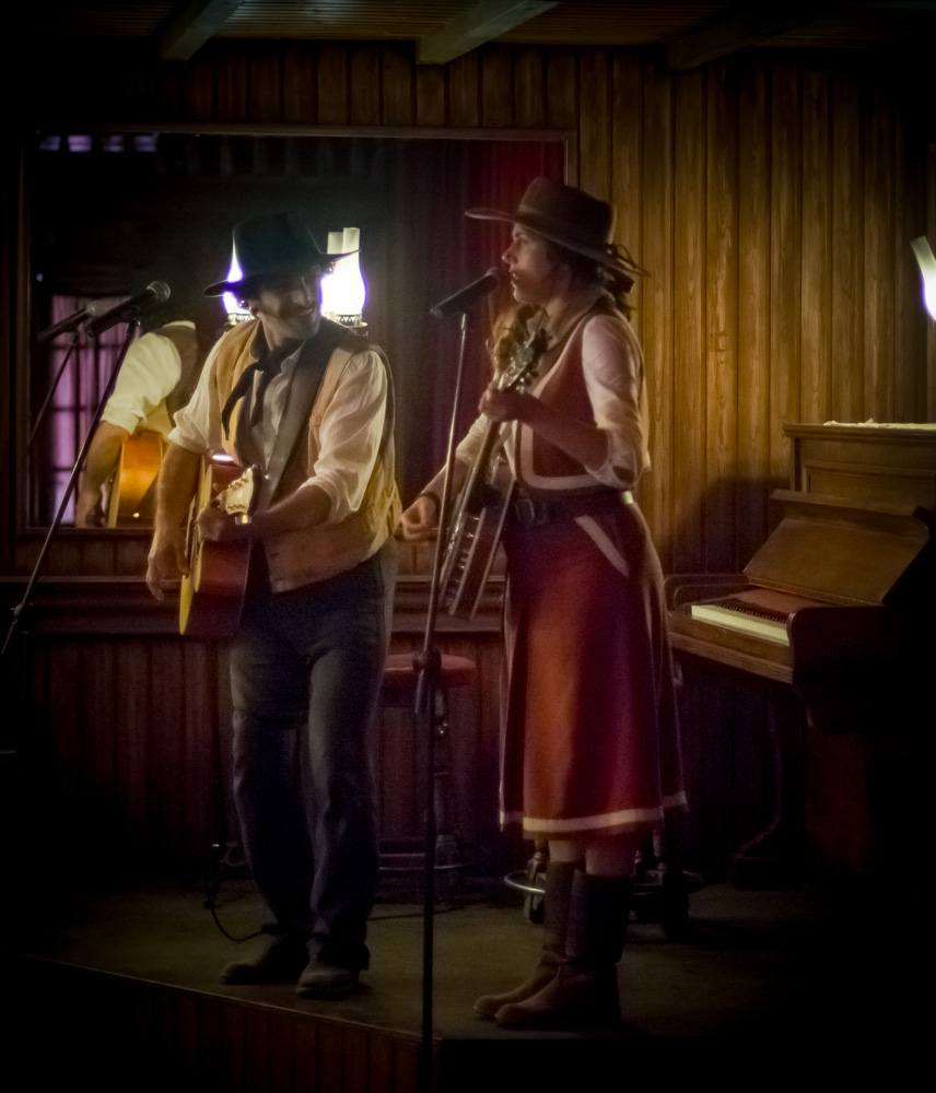 The Wild West wouldn't be wild without a bit of music.