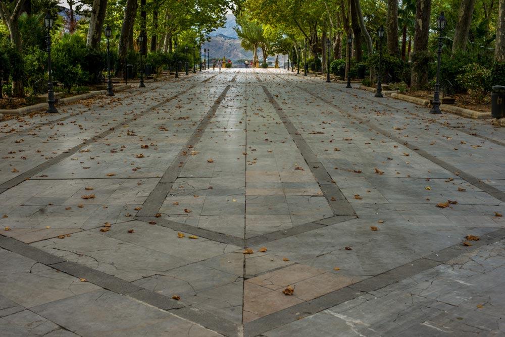 The park in Ronda