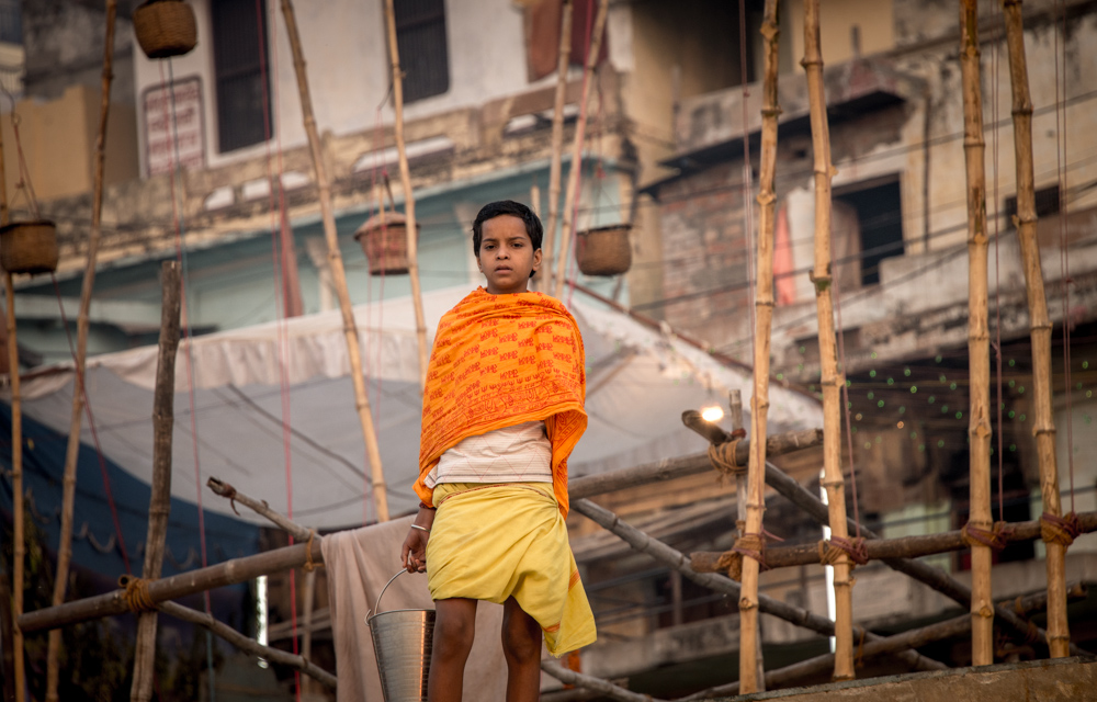 Young boy in Varanasi
