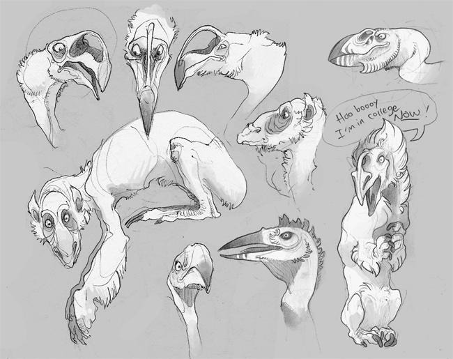 Vulture-beasts