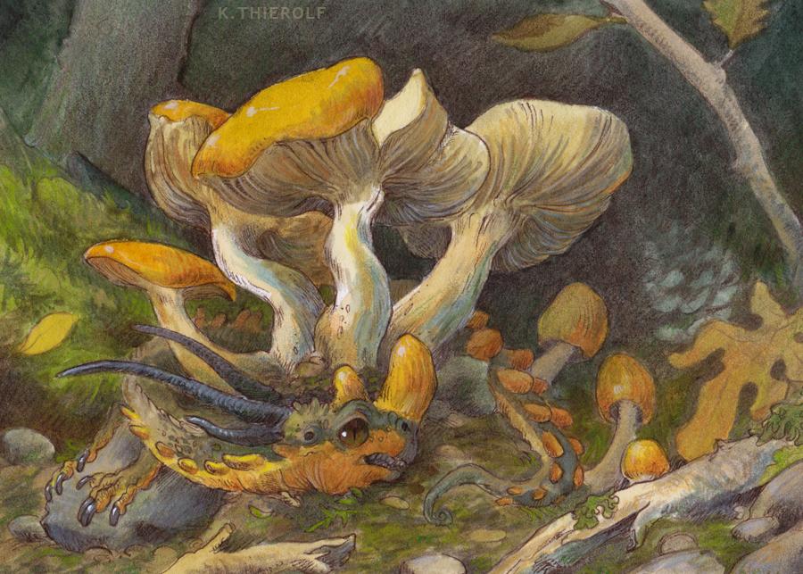 Mushroom Dragon, Undergrowth