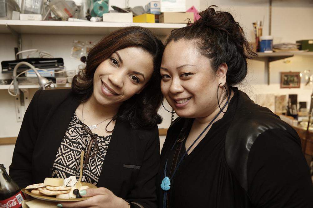 Sabrina of Sabrina Gilbert Makeup and Laura of My Royal Photo Booth.