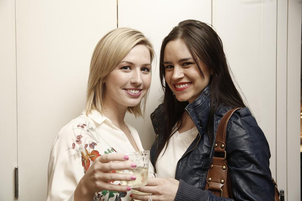 Courtney (left) of Love + Brain Films, all smiles!