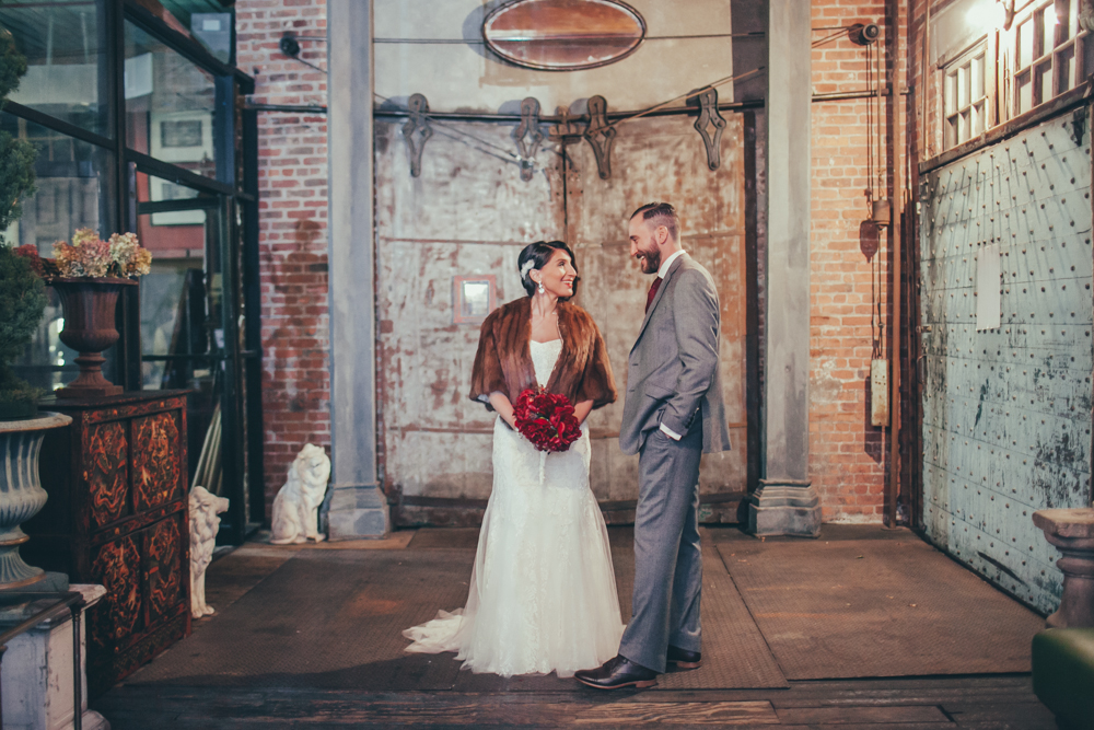 brooklyn wedding hushed commotion