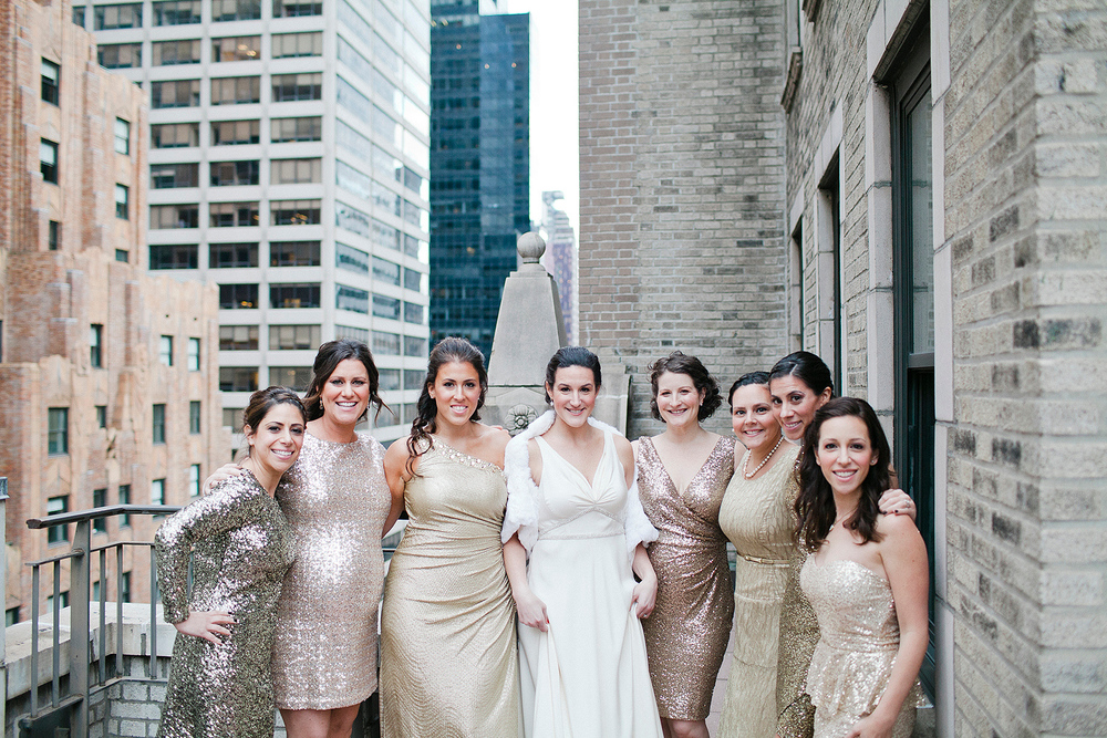 How great are all these sparkly bridesmaid dresses?!
