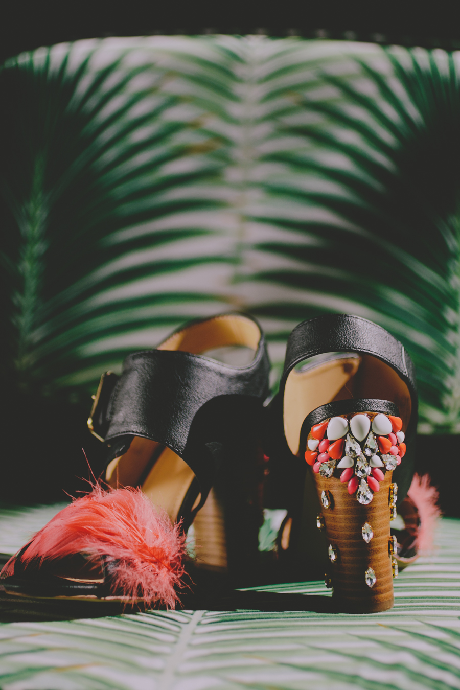 hushed commotion custom wedding shoes