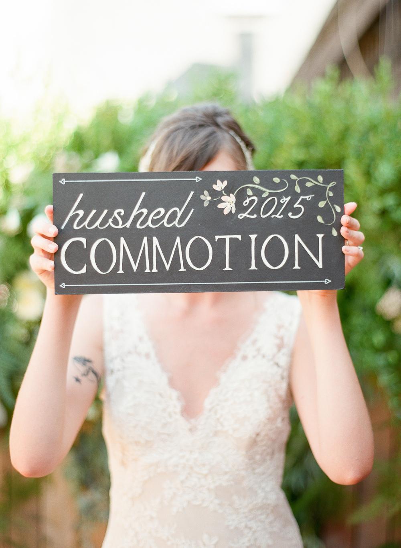 hushed commotion 2015 chalk art