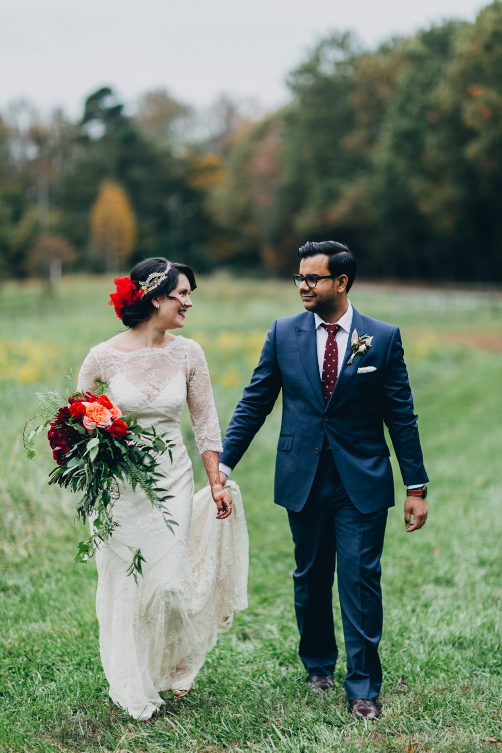 Image by Amber Gress Photography To see more from Thea's two-day wedding affair, follow this link!