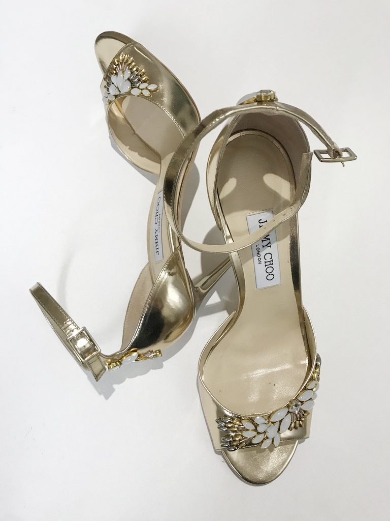 beaded gold heels, hushed commotion.jpg