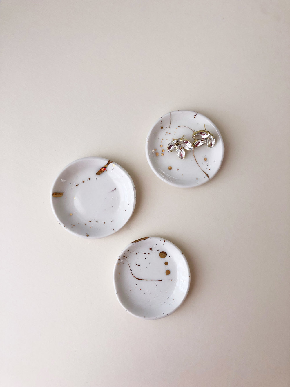Jewelry Dish: TinTinPieces x Hushed Commotion