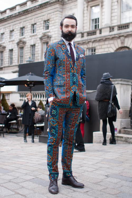 African Suit - London