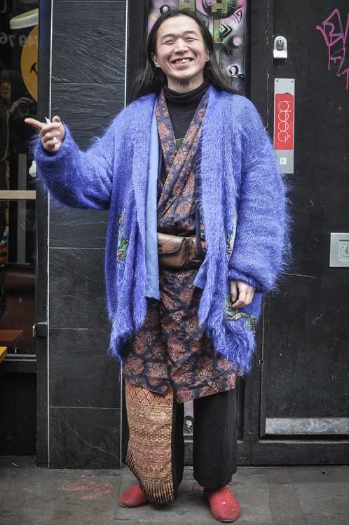 Kimono Remix - London