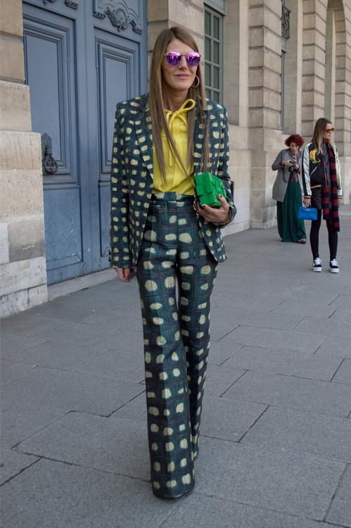 Printed Suit - Paris