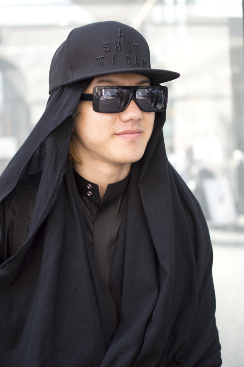 Man In Black - London