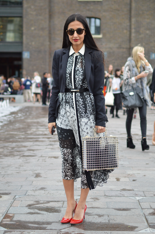 Street Style Cage Bag LFW SS14 - Full Shot.png