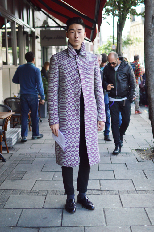 Street Style LFW SS14 Sharp And Regal (Model - Sang Woo Kim) - Full Shot.png