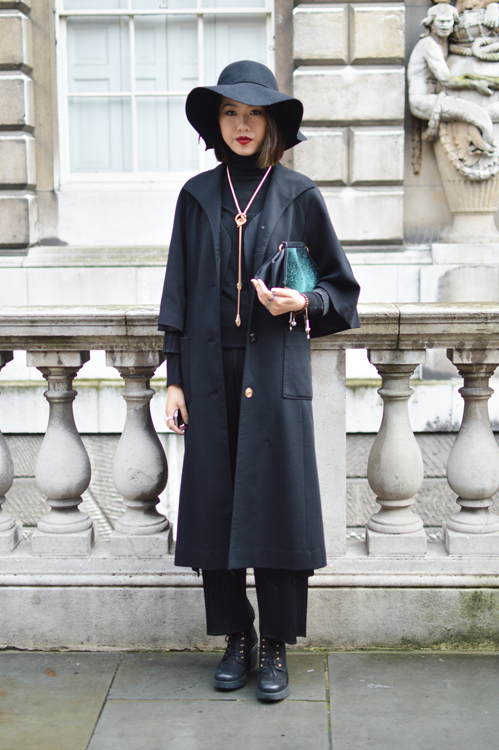 Street Style LFW SS14 'Mystical Layers' (Fashion Student - Lin Jing Peng) - Full Shot.png