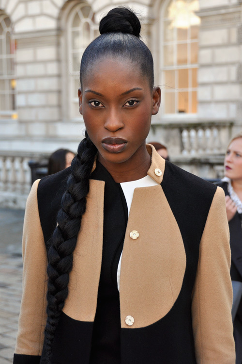 Street Style LFW SS14 'Tone Play' (Designer and Model Jacqueline) - Close Up.jpg