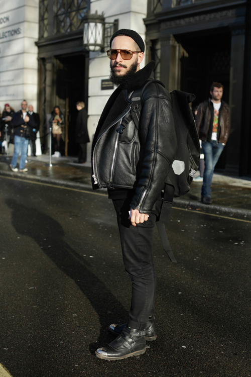 Street Style LCM AW14 'Waterproof Forecaster' (Photographer - Antonio Giacometti) - 03.jpg