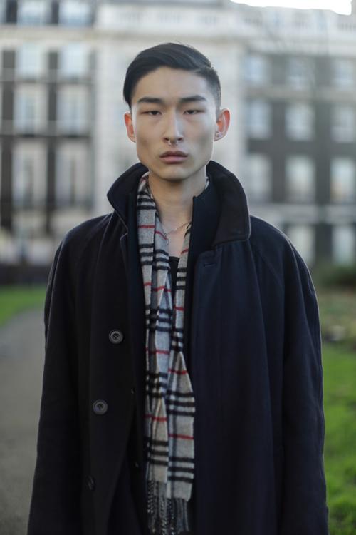 Korean style men winter