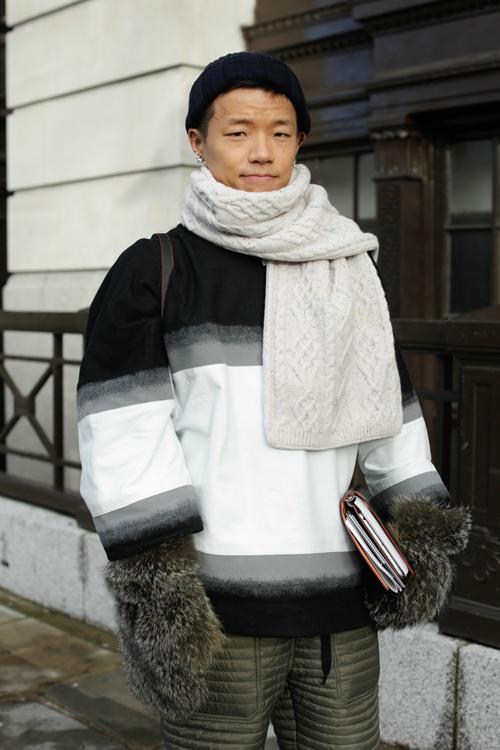 Street Style LCM AW14 'Roaring Mittens' (Vogue Japan - Kaname) - 01.jpg
