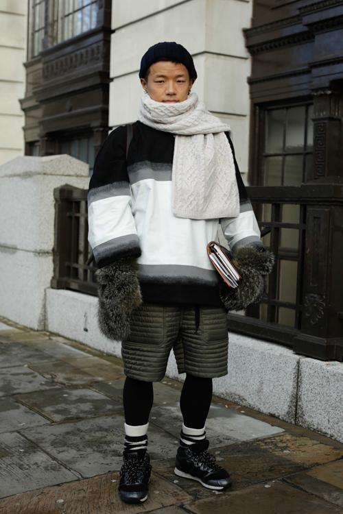Street Style LCM AW14 'Roaring Mittens' (Vogue Japan - Kaname) - 02.jpg