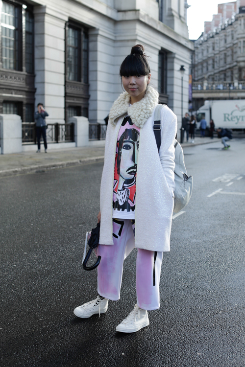 Street Style LCM AW14 'Quirky Winter' (Fashion Blogger - Susie Bubble) - 02.jpg