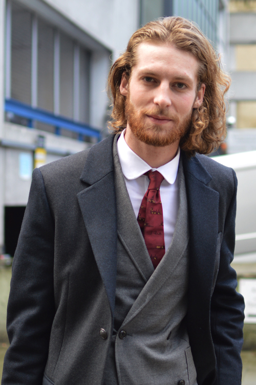 Street Style LCM AW14 'Dandy Dan' (Fashion Writer - Daniel Kennedy) - 01.jpg