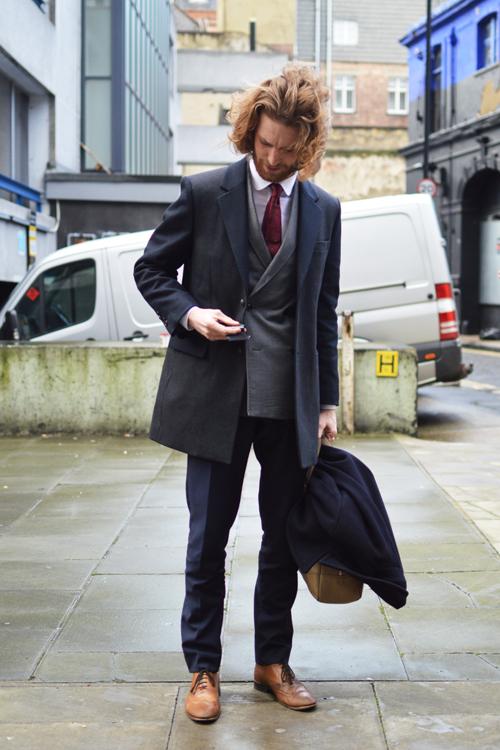 Street Style LCM AW14 'Dandy Dan' (Fashion Writer - Daniel Kennedy) - 02.jpg