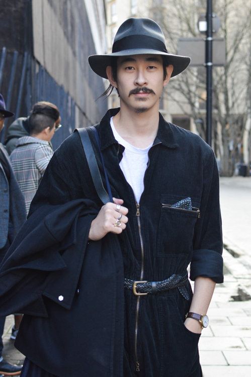 Street Style LCM AW14 'Long Story' (Fashion Blogger - Karlmond Tang) - 01.jpg