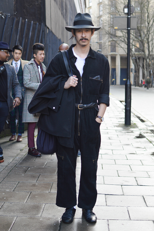 Street Style LCM AW14 'Long Story' (Fashion Blogger - Karlmond Tang) - 03.jpg