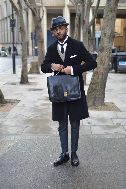 Street Style LCM AW14 'Flyy Guy' (Fashion Blogger - Martell Campbell) - 01.jpg