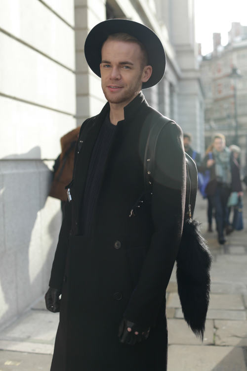 Street Style LCM AW14 'Sharp Casual' (Menswear Designer - Steve J Corcoran) - 01.jpg