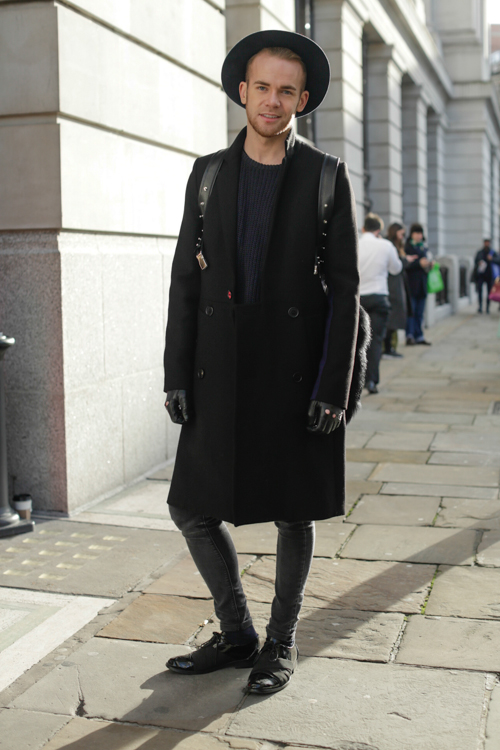 Street Style LCM AW14 'Sharp Casual' (Menswear Designer - Steve J Corcoran) - 03.jpg
